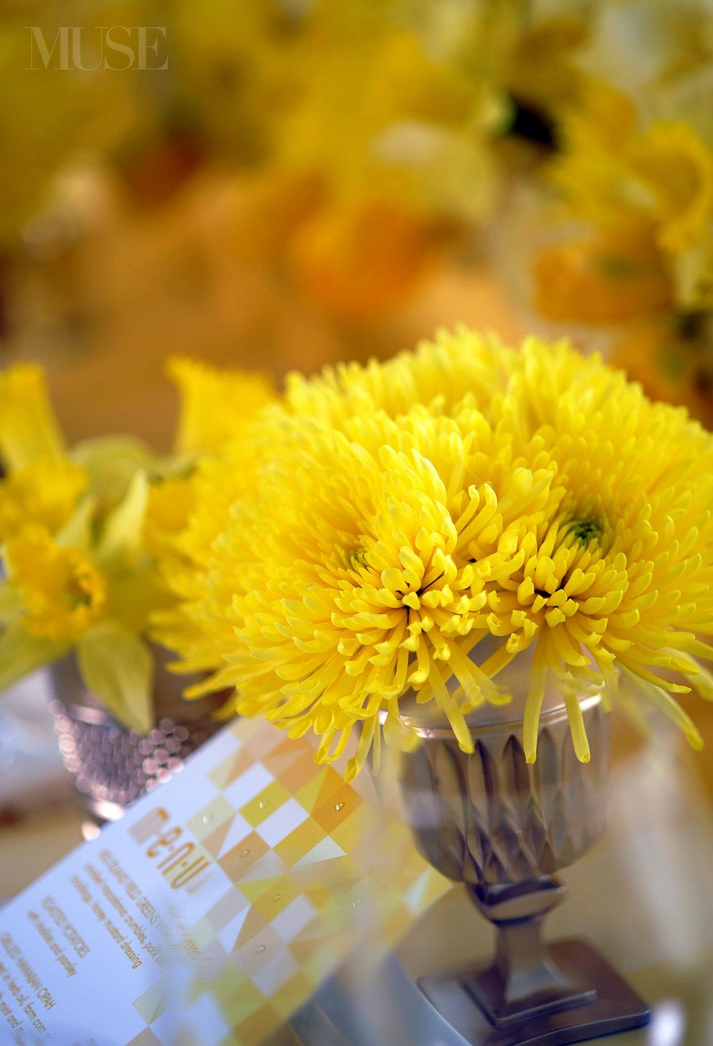 MUSE Bride Lookbook - Flowers . Yellow