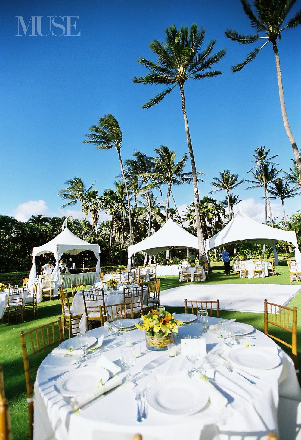 MUSE Bride Lookbook - Venue . Lanikuhonua