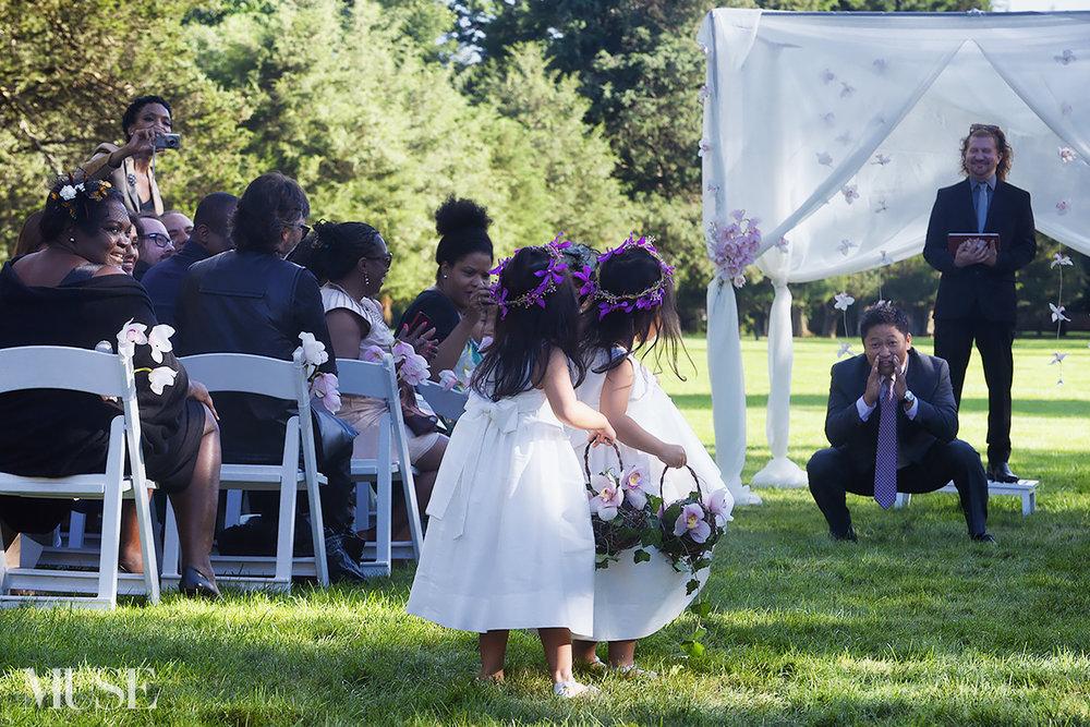 MUSE Bride Flower Girls Erick Rhodes Photography