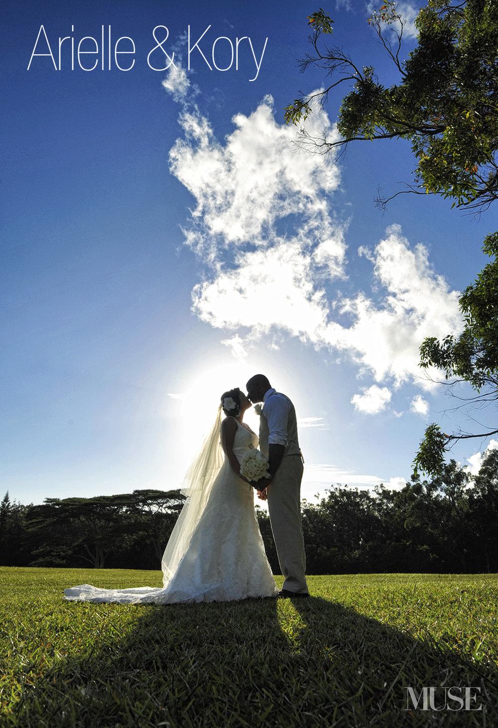 MUSE Bride Lookbook - Brides . Arelle & Kory