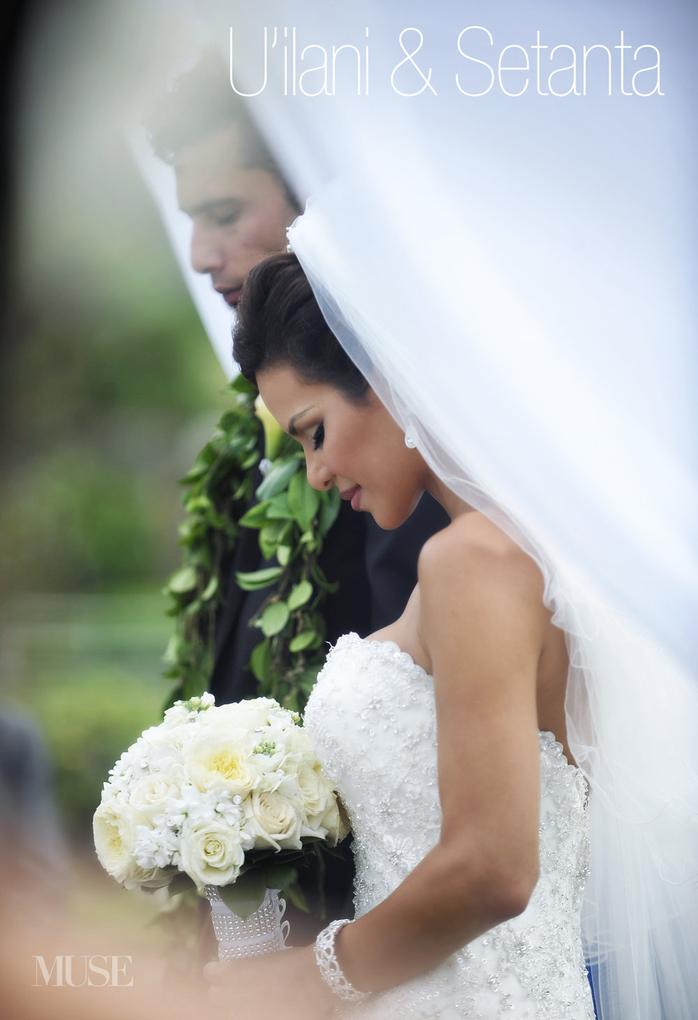 MUSE Bride Lookbook - Brides . U'ilani