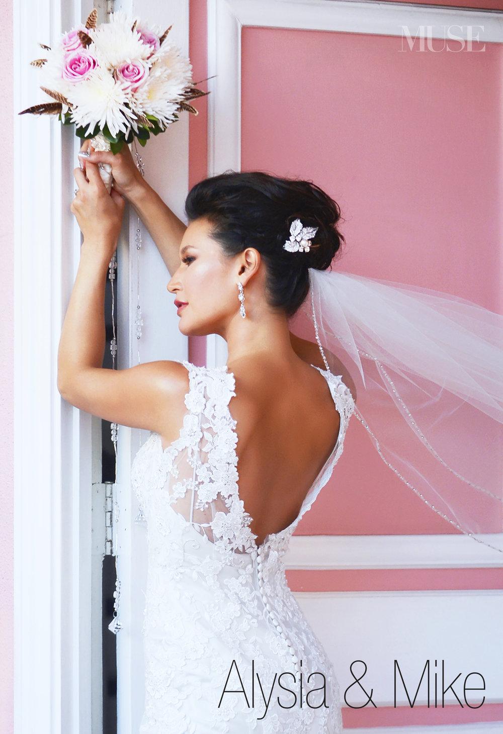 MUSE Bride Lookbook - Brides . Alyssa