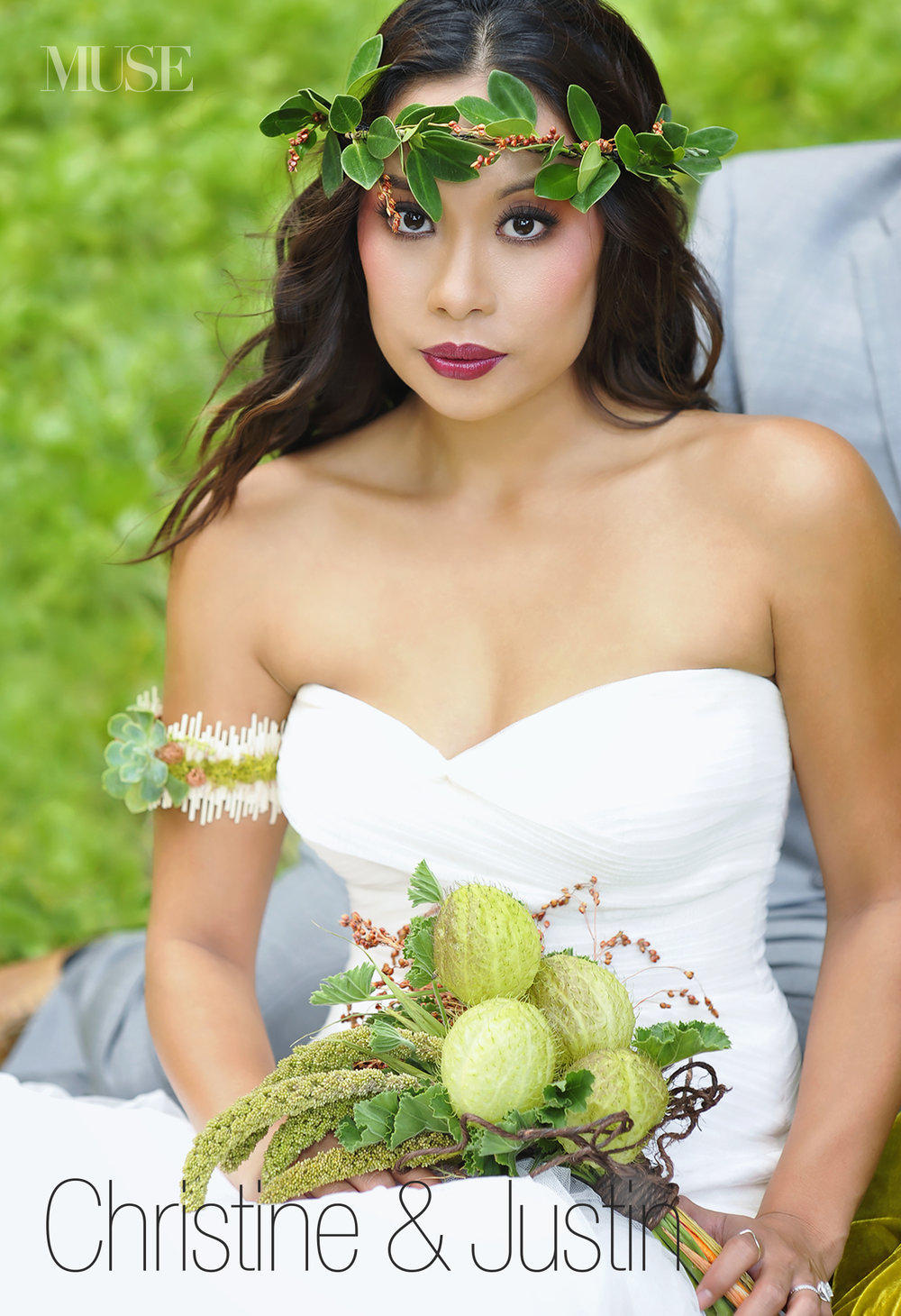 MUSE Bride Lookbook - Brides . Christine