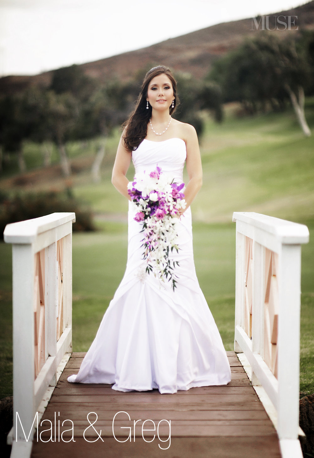 MUSE Bride Lookbook - Brides . Malia