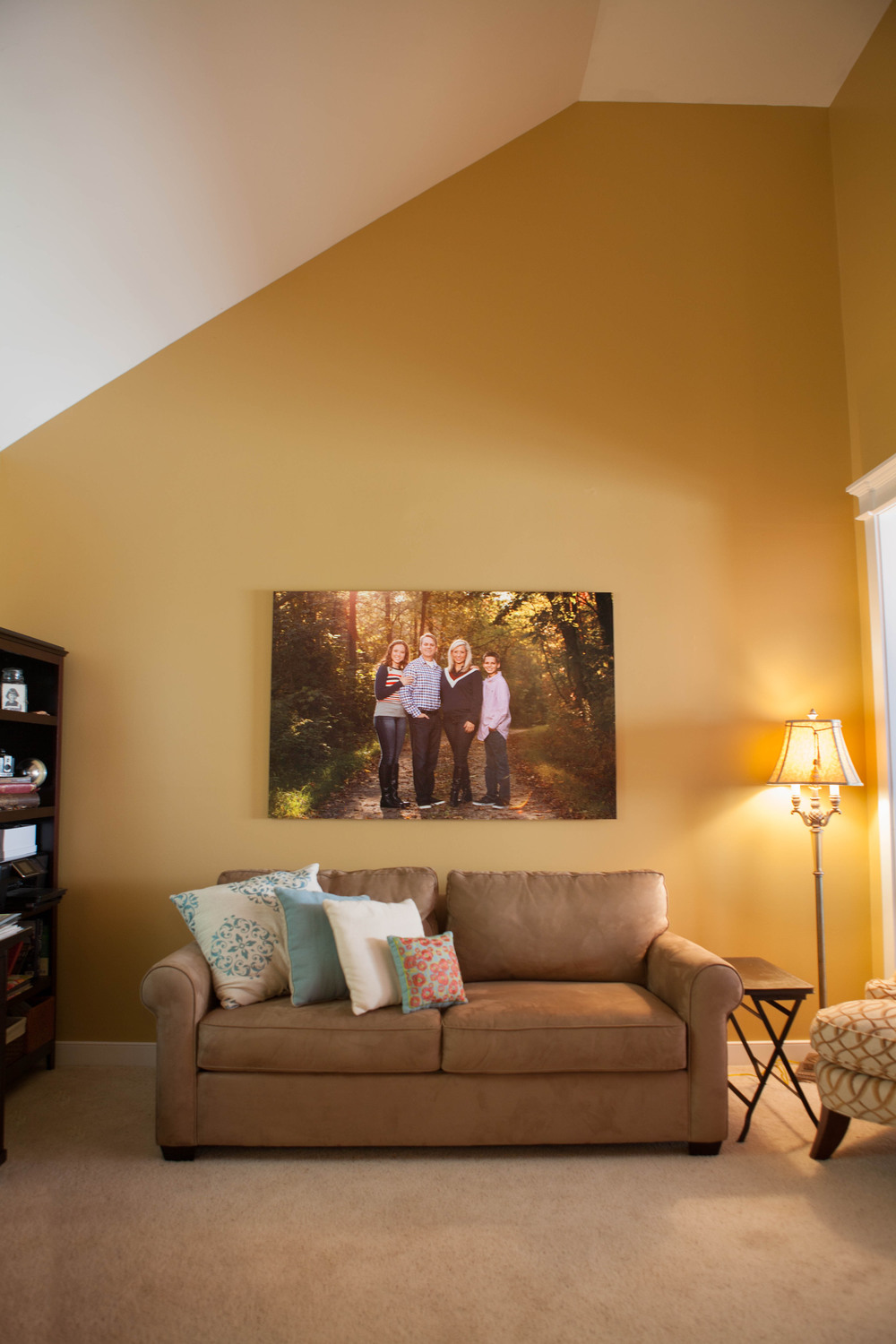 40x60 Metal Print  Room size - 14x18'