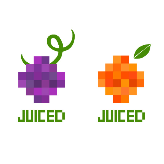 Juiced Logo Sketches