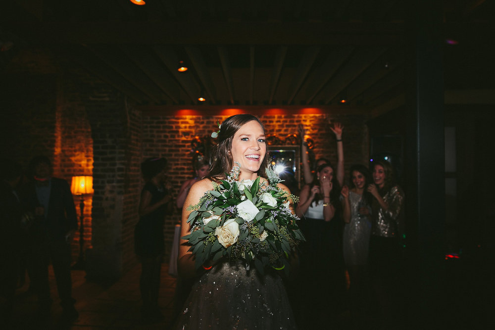 www.lindseyamiller.com Charleston SC New Years Eve Wedding at No
