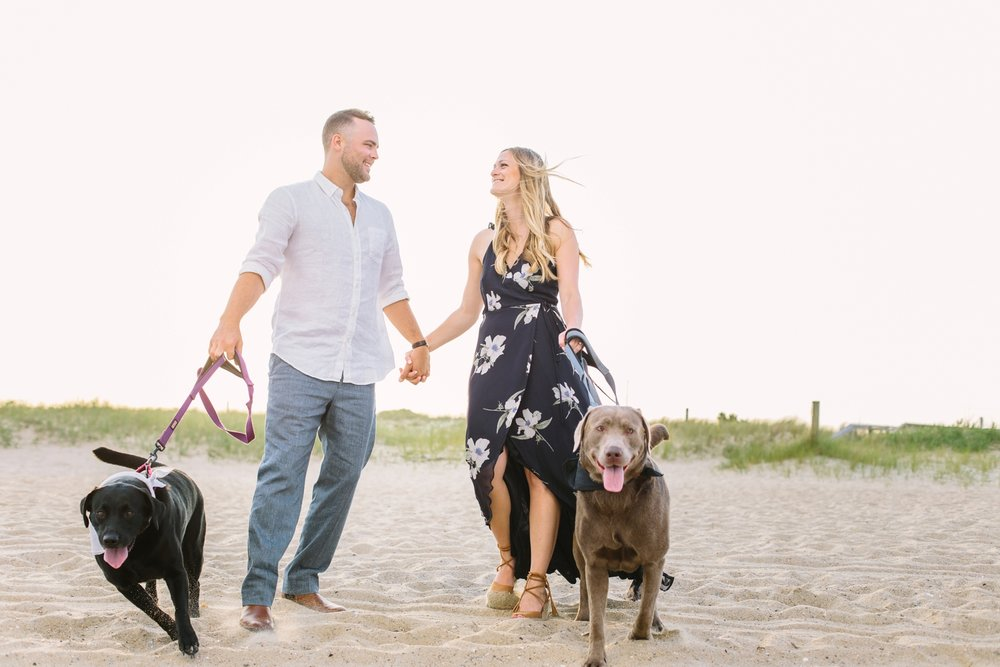 lindsey a miller photography - fort fisher engagement session - wilmington nc