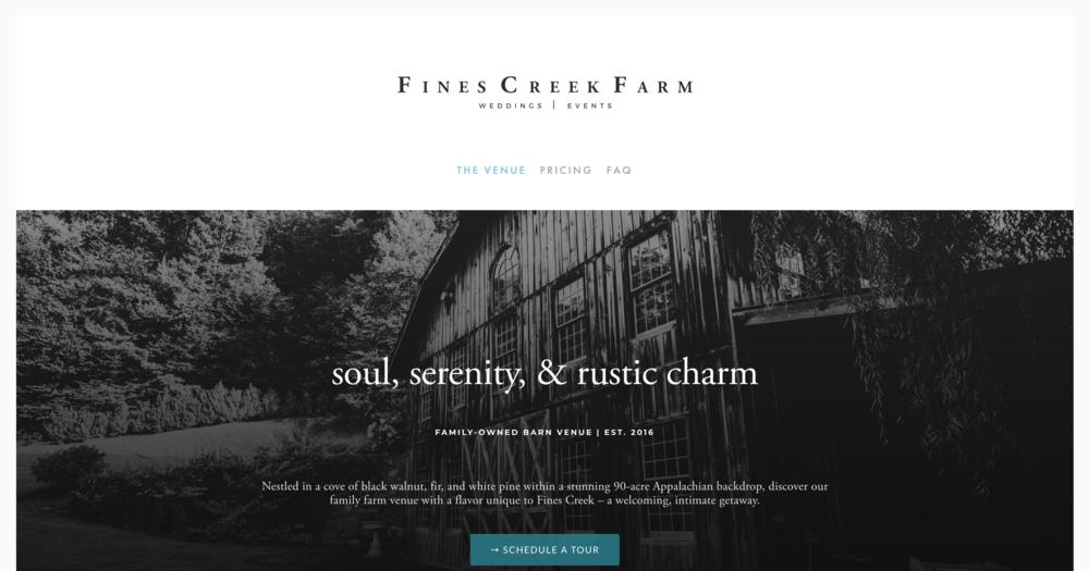 Fines Creek Farm