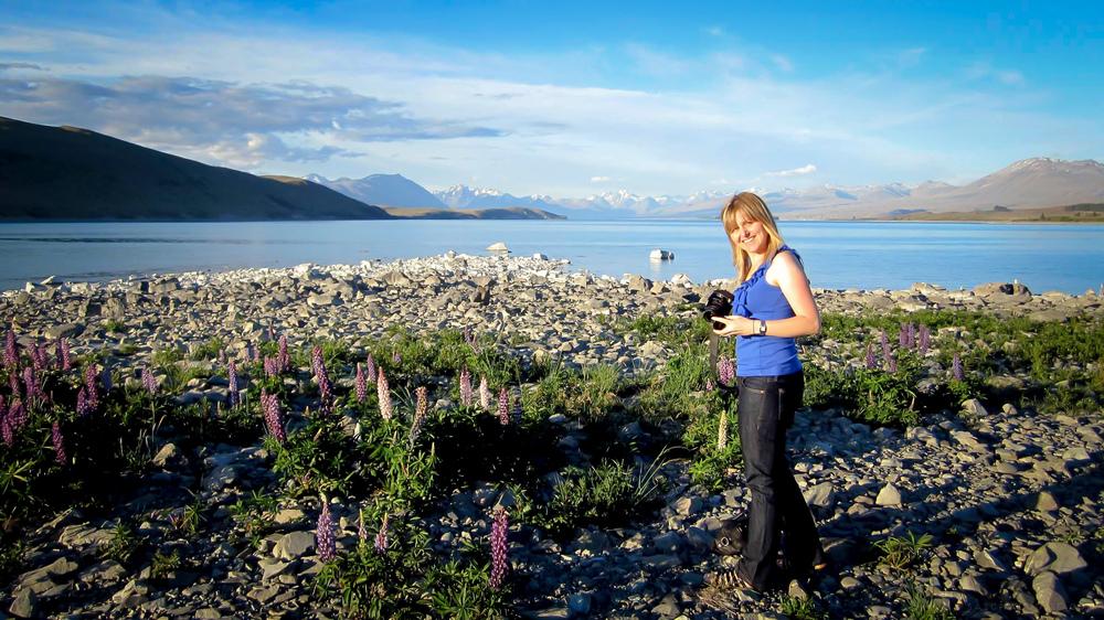 Sascha Louise - Lake Tekapo, NZ