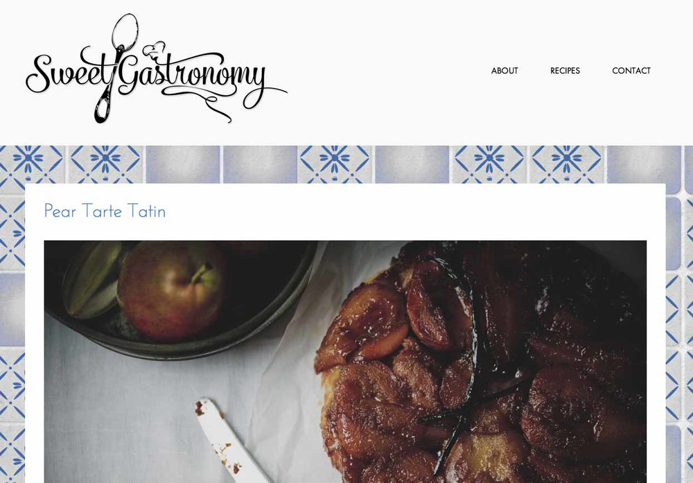sweetgastronomy.com is live