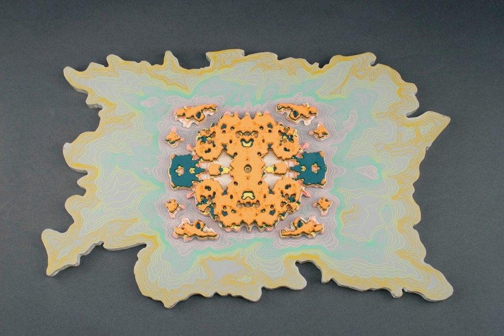 Fabricated Topography by Brian Czibesz