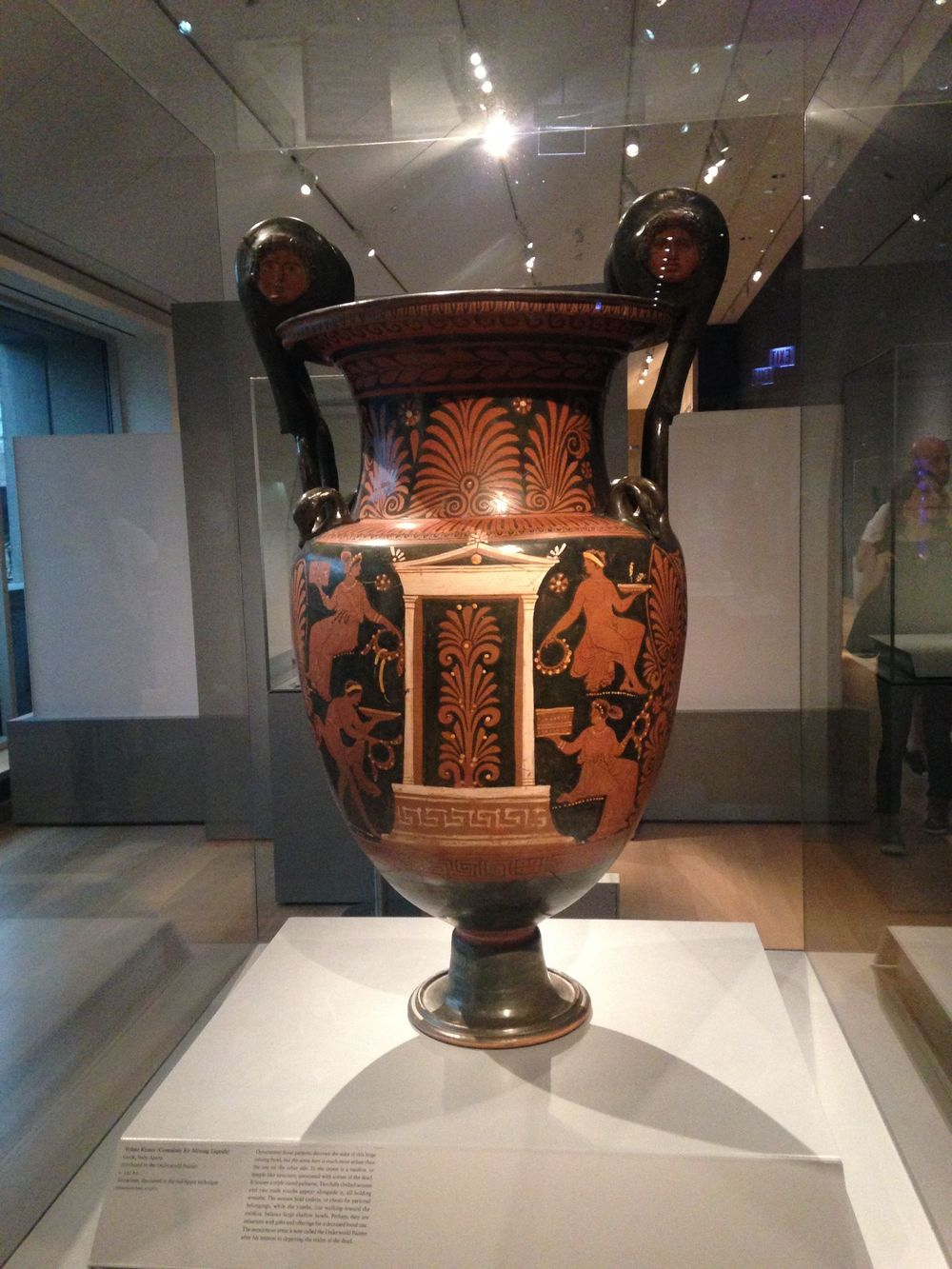 A photo of one of the Greek Crator's from the Chicago Art Institute I walk by each day.