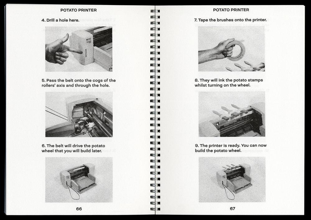 Printing at Home (2010) by Xavier Antin