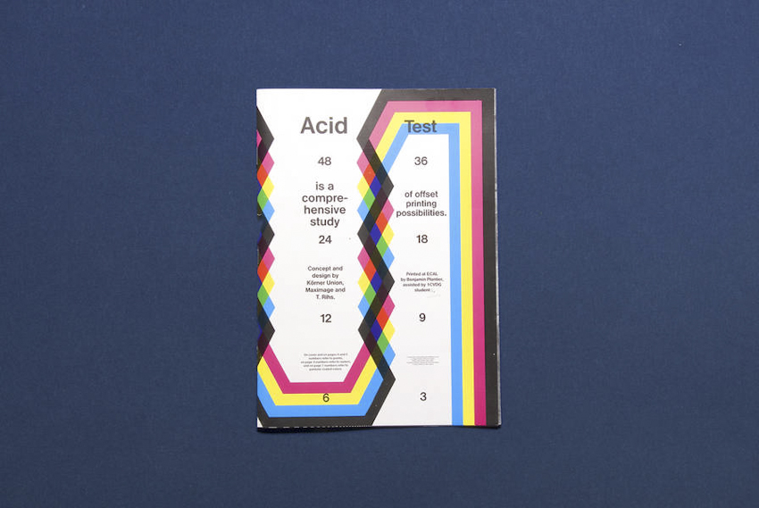 Acid Test (2010) by Maximage, Tatiana Rihs and Körner Union