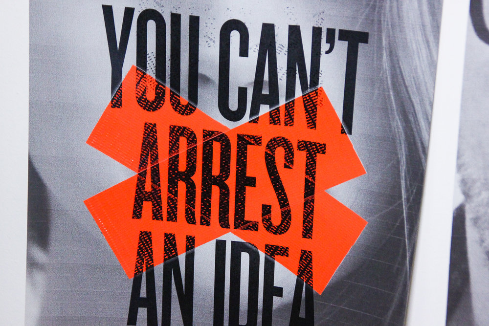 Figure 12.0 You can't arrest an idea