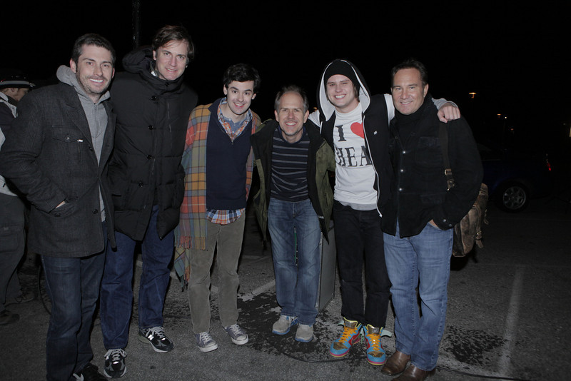 With Steven Yell, Mike Karz, Brendan Robinson, Matt Shively and Bill Bindley on Feels So Good