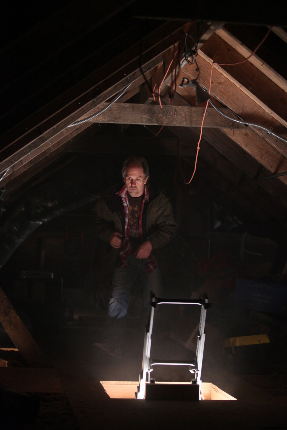In our attic set on Crawlspace