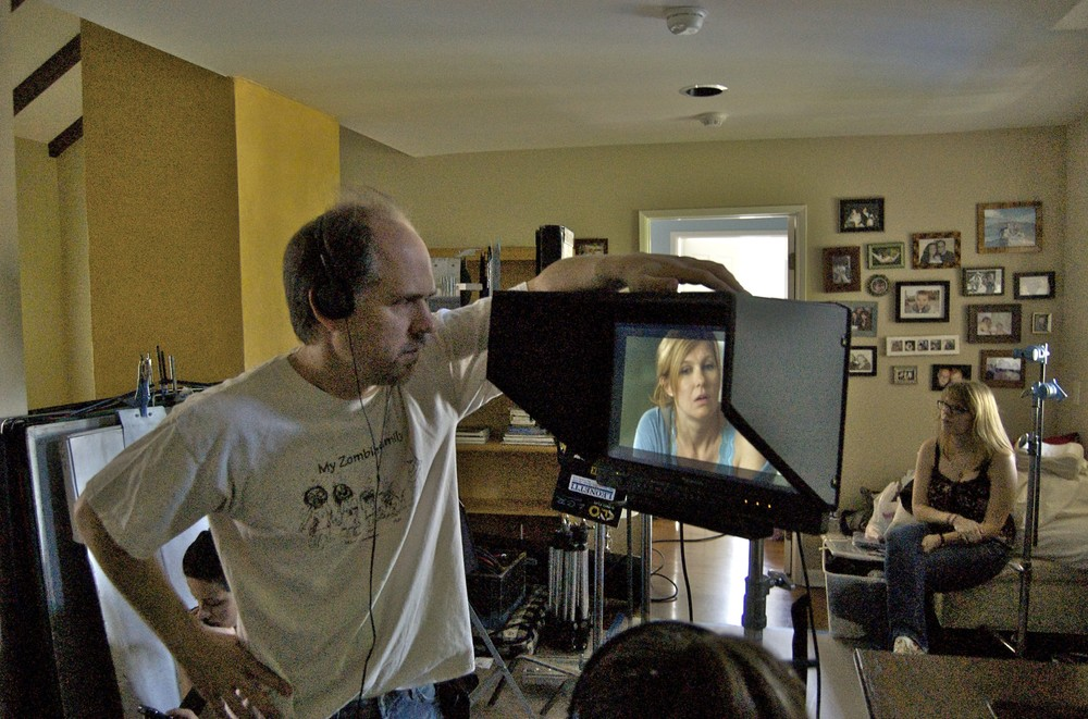Directing Connie Britton on Conception