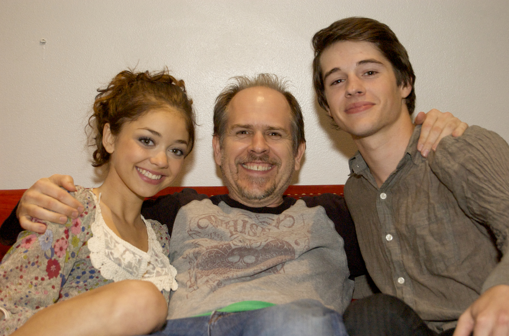 With Sarah Hyland and Matt Prokop on Conception