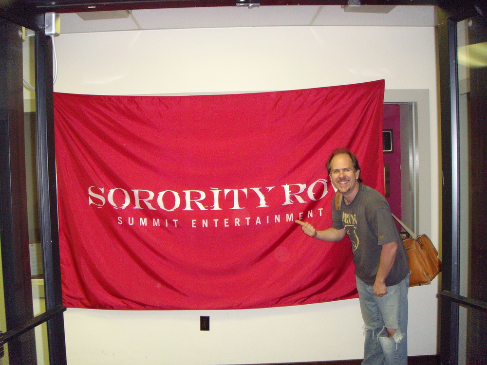 In the production offices of Sorority Row