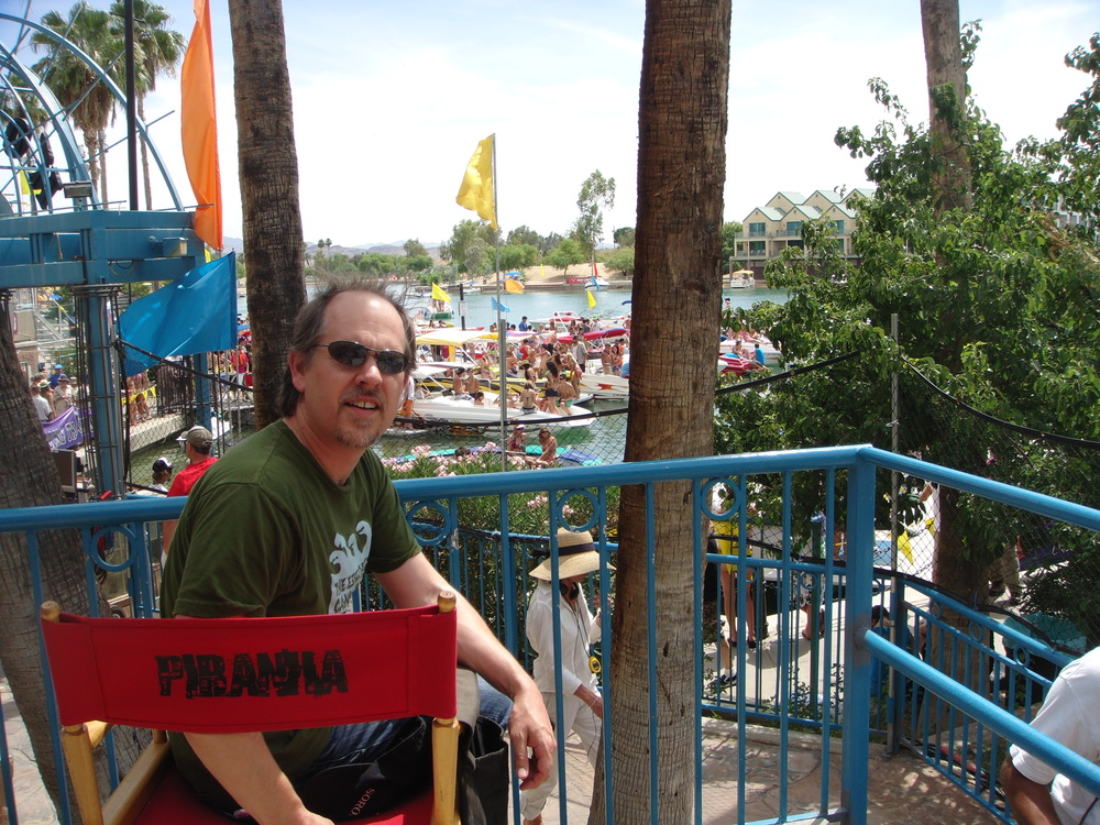 On the set of Piranha 3D