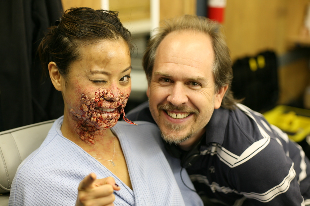 With Jamie Chung on Sorority Row