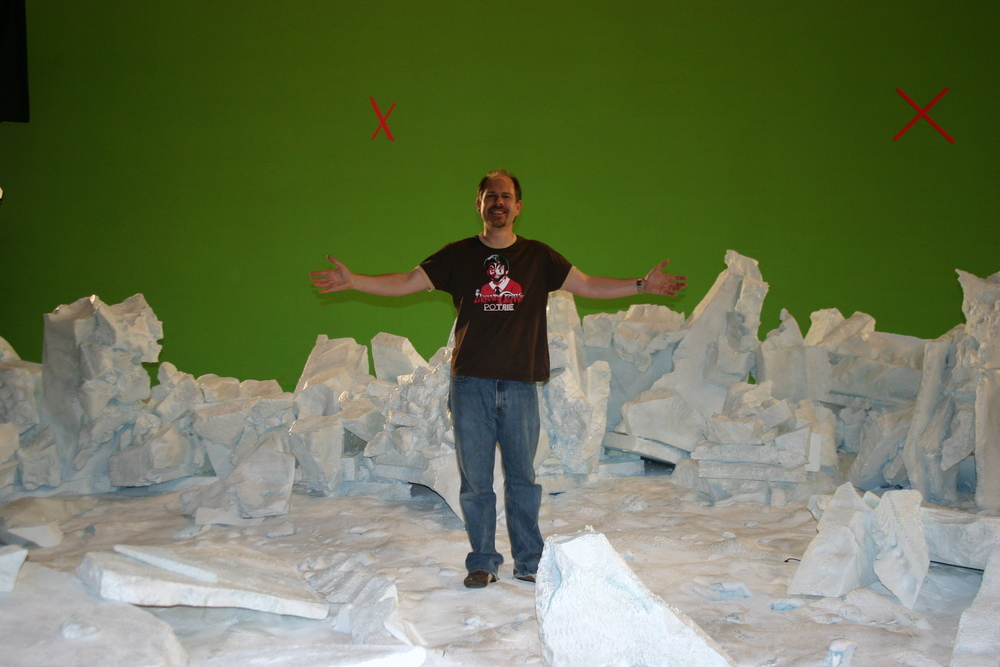 My trip to Antarctica (aka: the set of Good Luck Chuck in Vancouver)