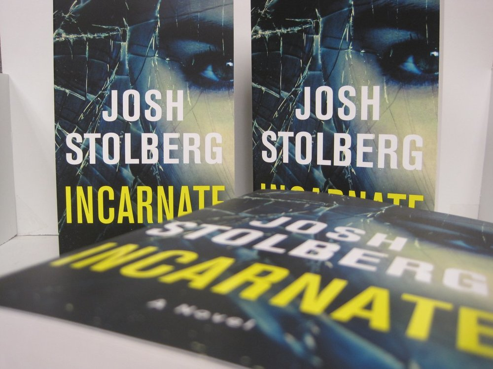 Incarnate. My first… but hopefully not my last… novel.
