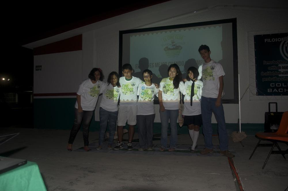 Cine en las escuelas de Quintana Roo