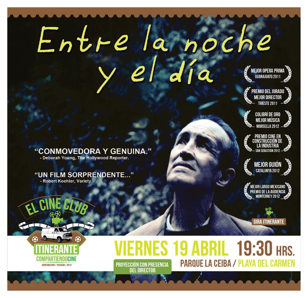Proyección 19 de Abril en Parque La Ceiba