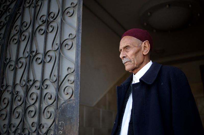 "We will stay here as long as there is war    Abd el-Mawla reckons his age to be around 85. He has lived his whole life in Libya, but three days ago, two days after the start of the Nato bombing campaign on Libya, Abd left his home in Tobruk with his eleven daughters, coming across the Egyptian border and settling in the coastal town of Marsa Matrouh.    Fighting has intensified in Eastern Libya as Qaddafi troops made huge advances towards Tripoli just under a week ago, forcing many to flee further east to the oil-town of Tobruk. For families like Abd's, the risk was too great.    But in post-revolution Egypt, Libyans are finding are warm welcome. A local religious group in Marsa Matrouh, led by a  sheikh  here, is providing humanitarian assistance to families fleeing the violence. The  sheikh , also a local landowner, is offering apartments to those coming across, as well as coordinating with the local hospital.    Whilst many Libyans have ties with this Egyptian town, it is not a long-term solution. They want to return to their country. ""I don't have any idea of what I will do"" Abd says. ""We will stay here as long as there is a war."" And for the time being, that seems to be the foreseeable future."