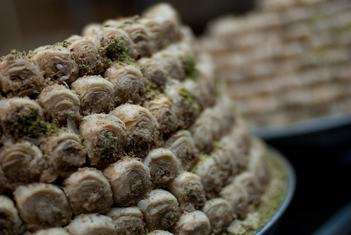 In Baklava We Trust    Still eating my way around the Middle East…