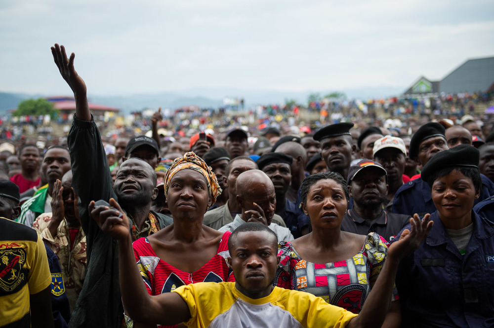 People react to the rebel announcement. nrest has plagued eastern Congo for nearly two decades.