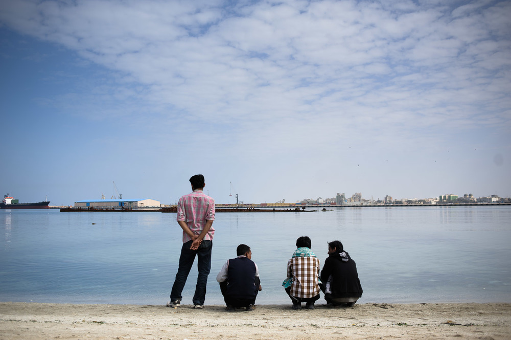 Thousands of migrants were trapped in the country. Hundreds of Bangladeshi workers found themselves caught at Benghazi's port; having been left by their employers, they found themselves without their passports, and with very little money, not having been paid for several months.