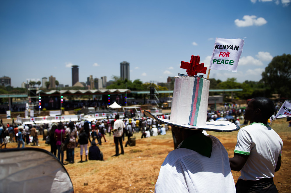 Peace rallies were held throughout the country, and the population expressed its strong desire to move on from the events of the previous election.
