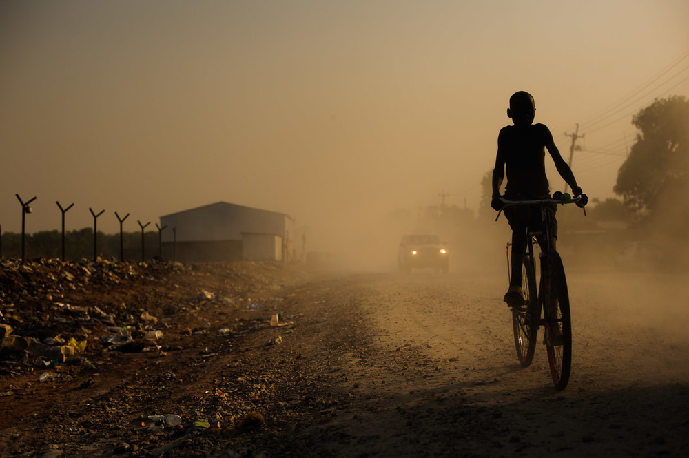 Southern Sudan's development suffered massively during the civil war, and even following the six years of peace, was largely under-developed by the time of the referendum, with less than 100km of paved roads throughout the whole region.