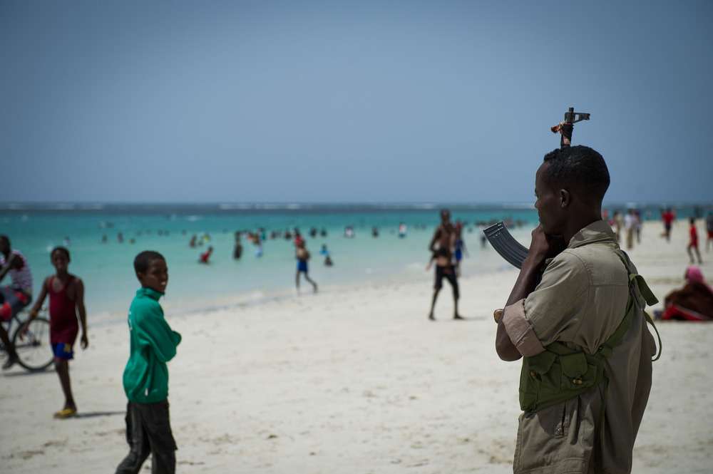 Residents of Mogadishu as well as visitors—many of them Somali diaspora—now flock to the Lido beach.