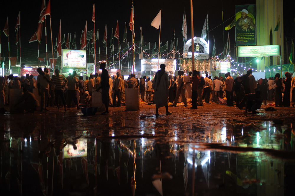 Mawlid  celebrations in Khartoum's twin city of Omdurman.