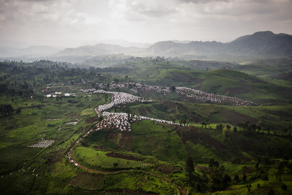 Internally Displaced Persons' camp, Masisi territory