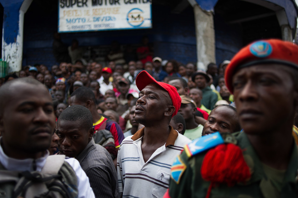 Animosity against the United Nations grew in Goma, with civilians demonstrating against what they considered the limiting impact of peacekeepers. A local army commander managed to pacify them.