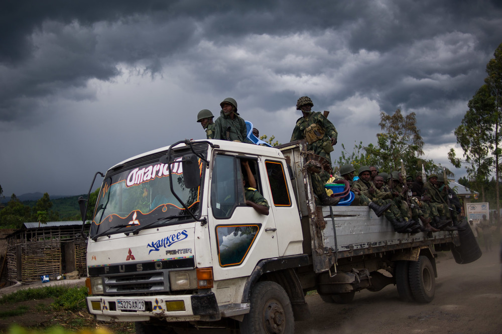 By October, the Congolese army made huge advances against the rebels, pushing them from Kibumba and Rutshuru up towards their final bastion of Bunagana, a border town with Uganda.