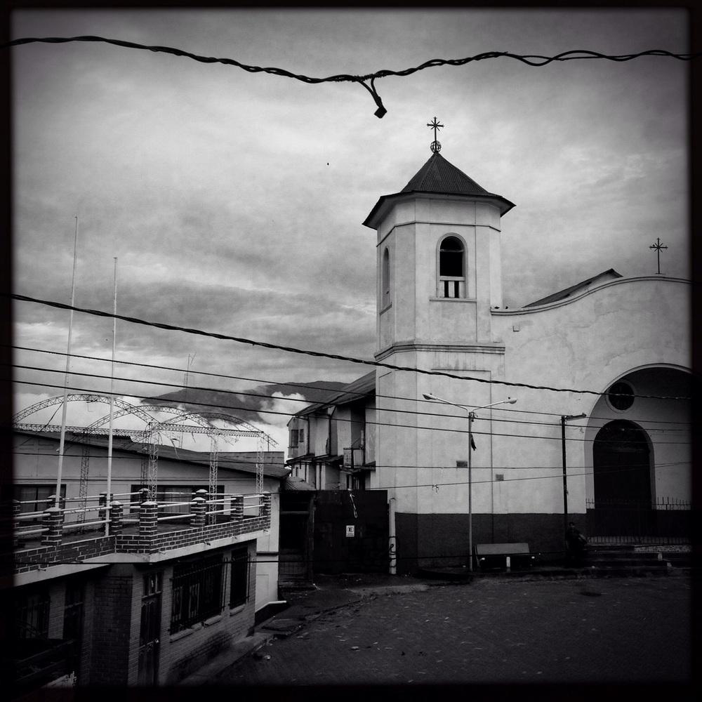 One of Coripata's churches