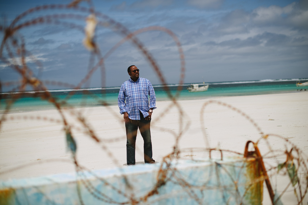 "Mohamed A. Aden, ""Ticeey"", the former President of Himan and Heeb State, what was the Somali capital of piracy. ""In my region, we have completely eradicated piracy,"" he claims."