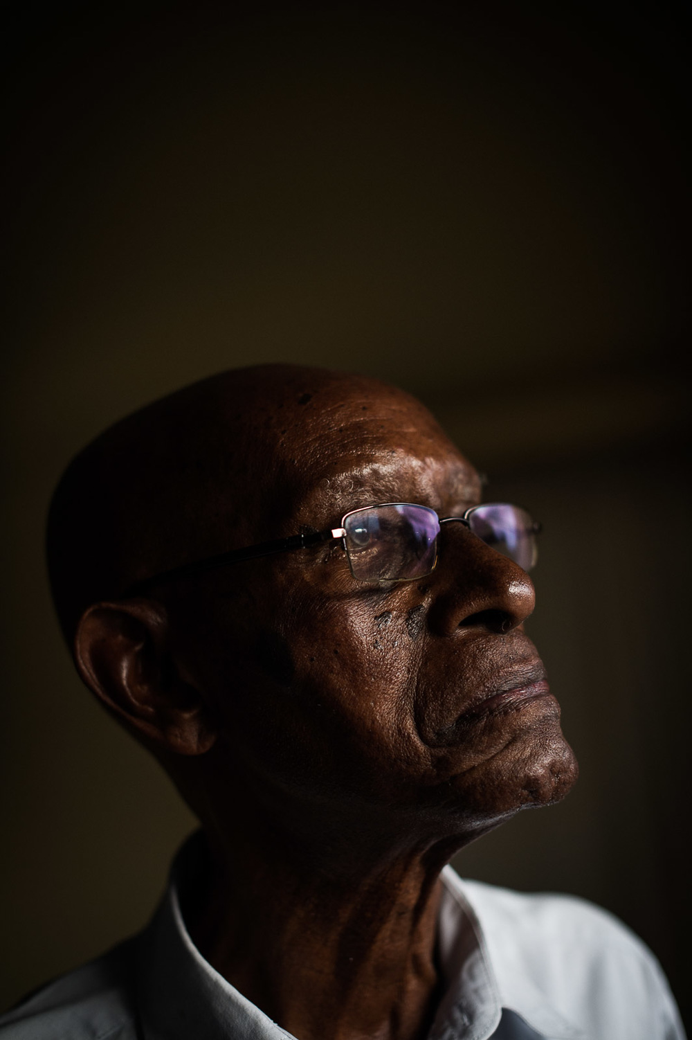 Dr. Joseph Nindorera at his home in Bujumbura, Burundi.