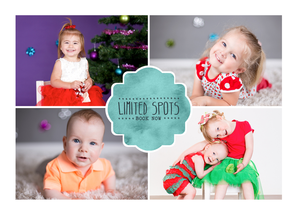 ~~~ Christmas Sessions ~~~  As our calendar is booking up quickly for the remainder of the year bookings are now open for Christmas sessions. Session dates are set to allow time for editing, image selection and printed product delivery. Please message the page or email info@thisstudiocanberra.com for more information. Tuesday 27th of October - 1 hour and mini sessions available. Thursday 29th of October -1 hour and mini sessions available Sunday 1st of November - Mini sessions only Sunday 15th of November - Mini sessions only Christmas mini session prices starting at only $100!