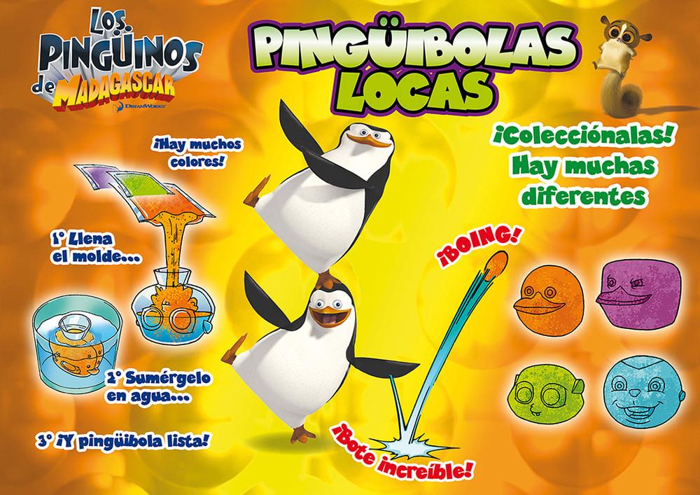 BORADS CONCEPTO PINGÜIBOLAS LOCAS