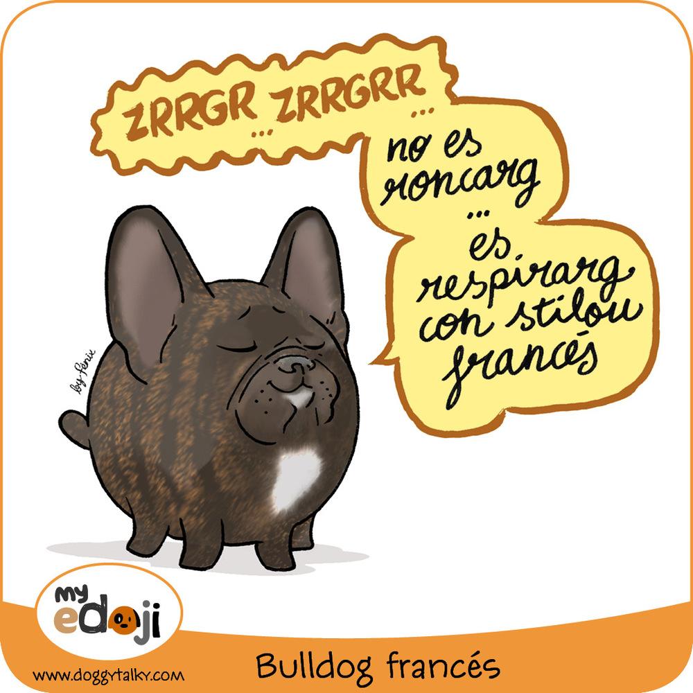 MyEdoji 01 Bulldog francés