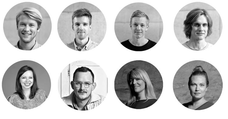 Strek Kollektiv, Kristine Five Melvær, Lars Beller Fjetland and Frøystad + Klock