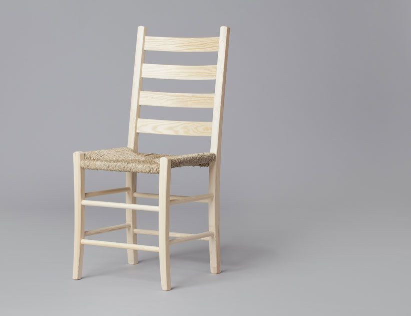 Jærstol – a traditional Norwegian chair dating back to 1898. Produced by Slåke. Photo: Kaja Bruskeland